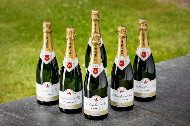 Personalised Champagne 6 bottles 750ml