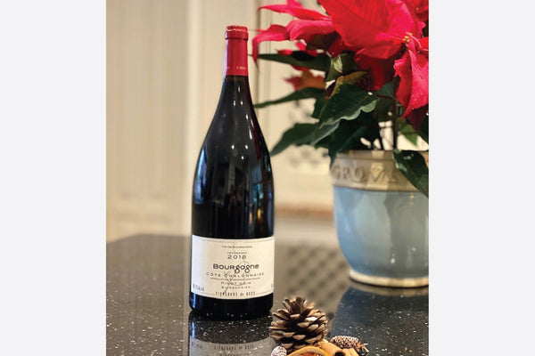 Magnum bottle of Côte Chalonnaise Pinot Noir Red Wine from Burgundy France 2018