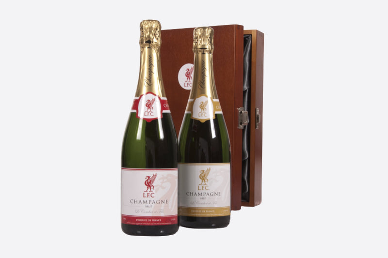 2 Bottles of Champagne in Luxury Gift Box
