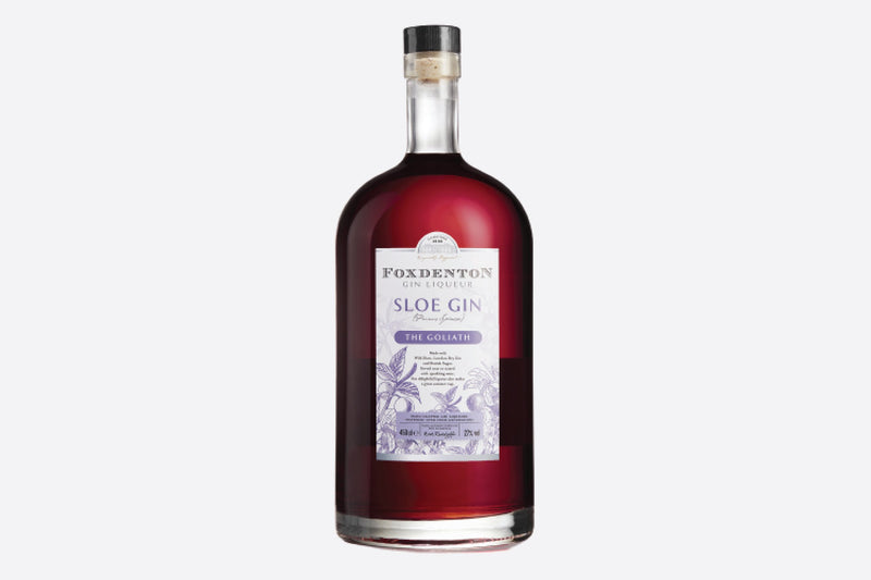 personalised sloe gin goliath bottle 450cl | branded gin park lane