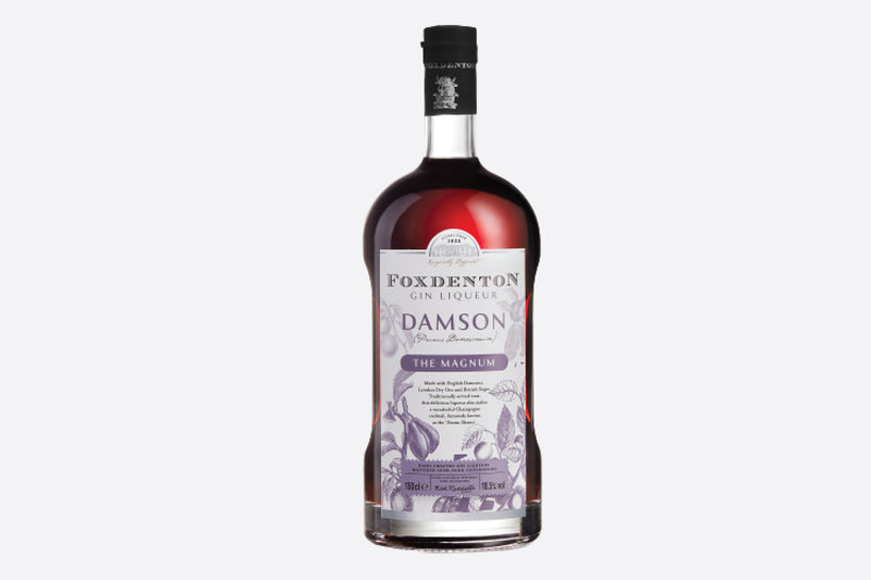Personalised Damson Gin magnum bottle | Branded label Park Lane Champagne