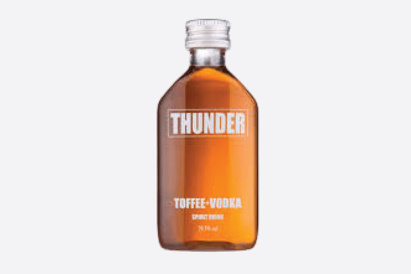 Personalised Thunder Toffee Vodka