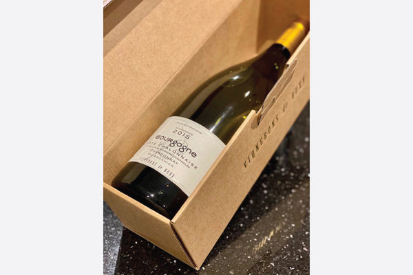 Magnum of Cote Chalonnaise Chardonnay White Burgundy Wine in box