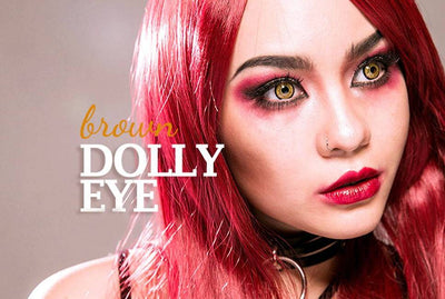 Dolly contact lenses for beautiful eye color