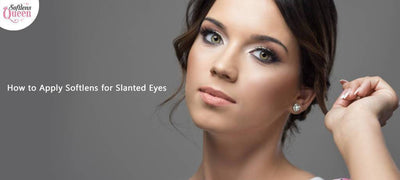 How to Apply Softlens for Slanted Eyes