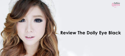 Review the Dolly Eye Black Softlens : Make Our Eyes Look like a Doll