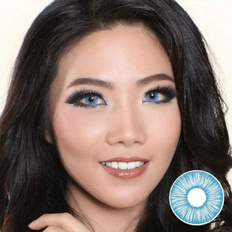 Avenue FX Blue - Avenue - Softlens Queen - Natural Colored Contact Lenses