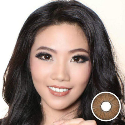 Avenue FX Brown - Avenue - Softlens Queen - Natural Colored Contact Lenses