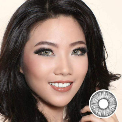 Avenue FX Gray - Avenue - Softlens Queen - Natural Colored Contact Lenses