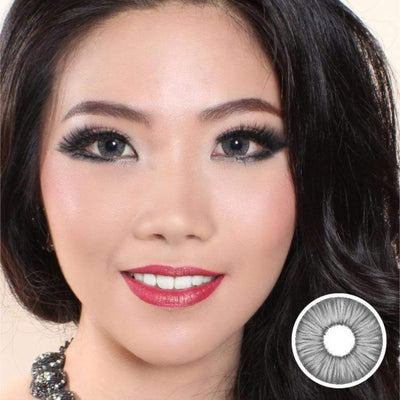 Avenue FX Pure Gray - Avenue - Softlens Queen - Natural Colored Contact Lenses