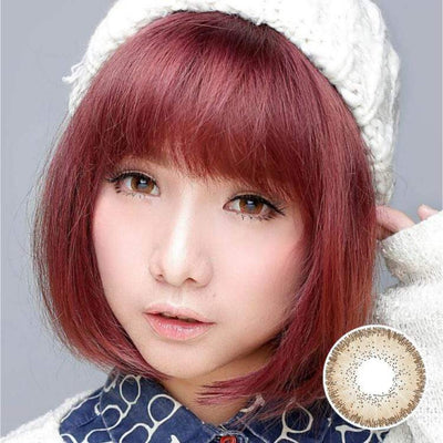 Avenue Highlight Brown - Avenue - Softlens Queen - Natural Colored Contact Lenses
