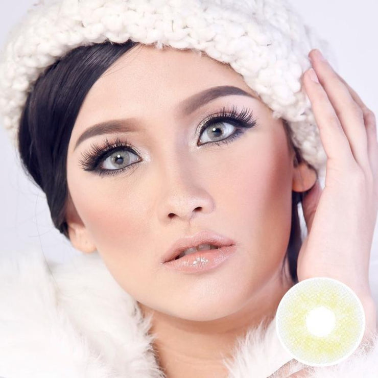 Avenue Ice Gray - Avenue - Softlens Queen - Natural Colored Contact Lenses