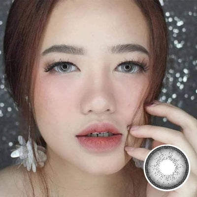 Avenue Titanium Gray - Avenue - Softlens Queen - Natural Colored Contact Lenses