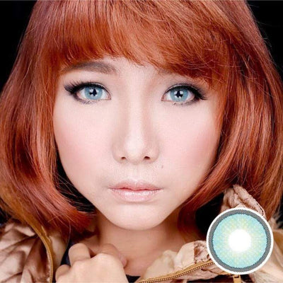 Avenue Topazio Blue - Avenue - Softlens Queen - Natural Colored Contact Lenses