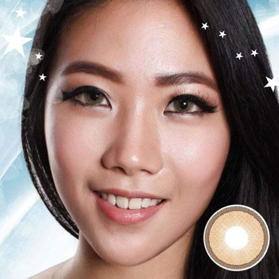 Avenue Topazio Brown - Avenue - Softlens Queen - Natural Colored Contact Lenses