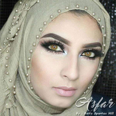 Batis Hill Asfar - Batis 46 Lens - Softlens Queen - Natural Colored Contact Lenses