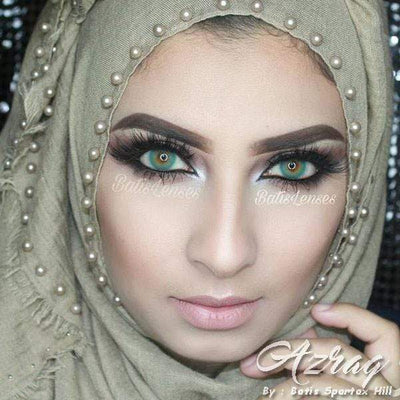 Batis Hill Azraq - Batis 46 Lens - Softlens Queen - Natural Colored Contact Lenses