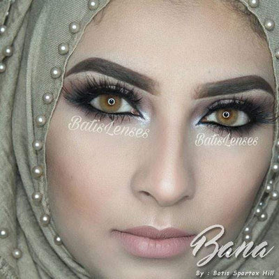 Batis Hill Bana - Batis 46 Lens - Softlens Queen - Natural Colored Contact Lenses