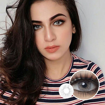 Bona Lensi Irish Gray - Bonalensi - Softlens Queen - Natural Colored Contact Lenses