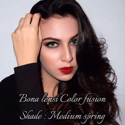 Bona Medium Spring - Bonalensi - Softlens Queen - Natural Colored Contact Lenses