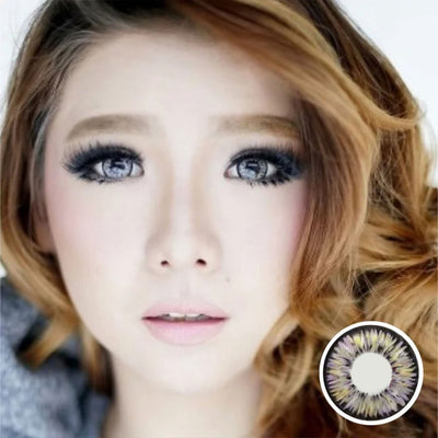 Dolly Eye Gray - The Dolly Eye - Softlens Queen - Natural Colored Contact Lenses