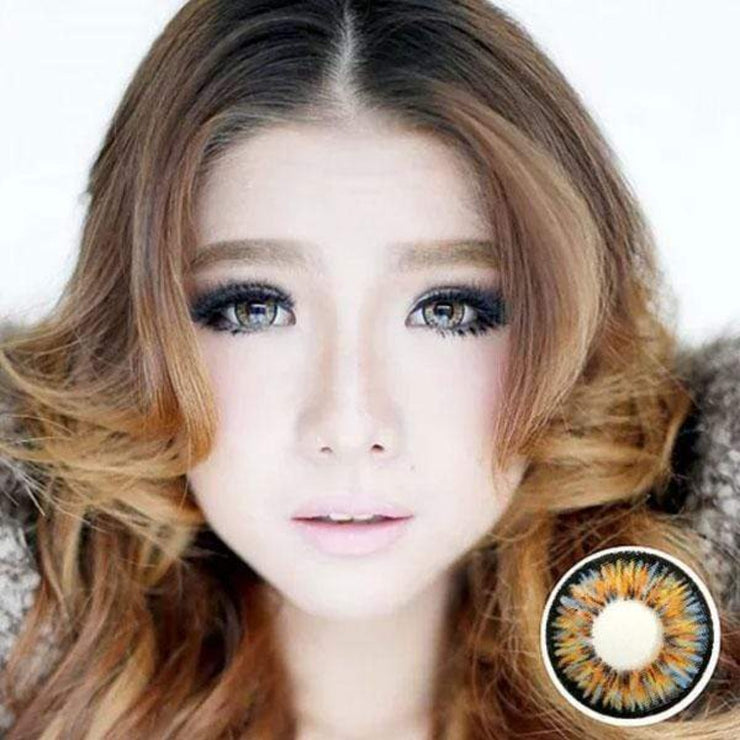 Dolly Eye Hazel - The Dolly Eye - Softlens Queen - Natural Colored Contact Lenses
