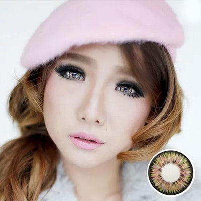 Dolly Eye Pink - The Dolly Eye - Softlens Queen - Natural Colored Contact Lenses