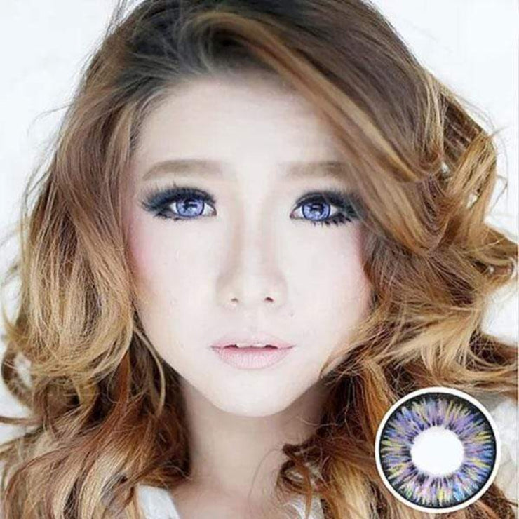 Dolly Eye Violet - The Dolly Eye - Softlens Queen - Natural Colored Contact Lenses