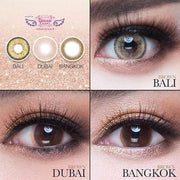 Dream Color Bali Brown - Dream Color - Softlens Queen - Natural Colored Contact Lenses