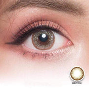 Dream Color Belle Brown - Dream Color - Softlens Queen - Natural Colored Contact Lenses