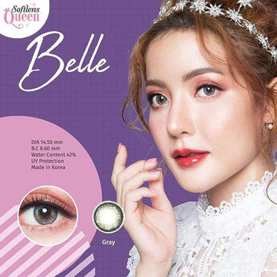 Dream Color Belle Gray - Dream Color - Softlens Queen - Natural Colored Contact Lenses