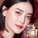Dream Color Jisso Brown - Dream Color - Softlens Queen - Natural Colored Contact Lenses