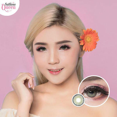 Dream Color Mamiya Gray - Dream Color - Softlens Queen - Natural Colored Contact Lenses