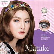 Dream Color Matake Gray - Dream Color - Softlens Queen - Natural Colored Contact Lenses