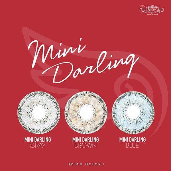 Dream Color Mini Darling Brown - Dream Color - Softlens Queen - Natural Colored Contact Lenses
