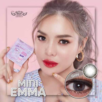 Dream Color Mini Emma Gray - Dream Color - Softlens Queen - Natural Colored Contact Lenses