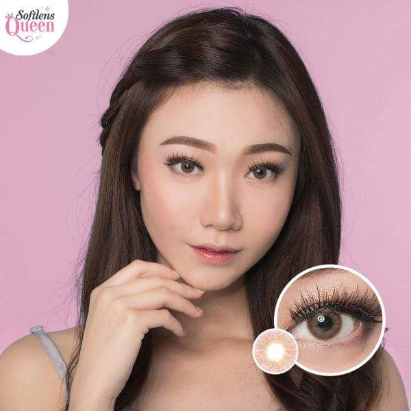 Dream Color Mini Lapis Brown - Dream Color - Softlens Queen - Natural Colored Contact Lenses