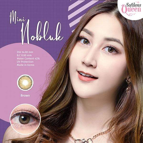 Dream Color Mini No Bluk Brown - Dream Color - Softlens Queen - Natural Colored Contact Lenses