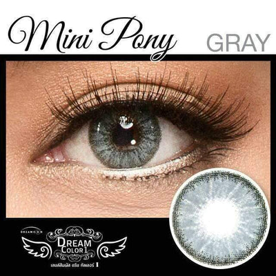 Dream Color Mini Pony Gray - Dream Color - Softlens Queen - Natural Colored Contact Lenses