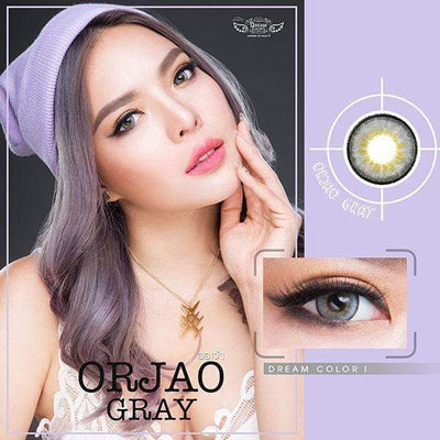 Dream Color Orjao Gray - Dream Color - Softlens Queen - Natural Colored Contact Lenses