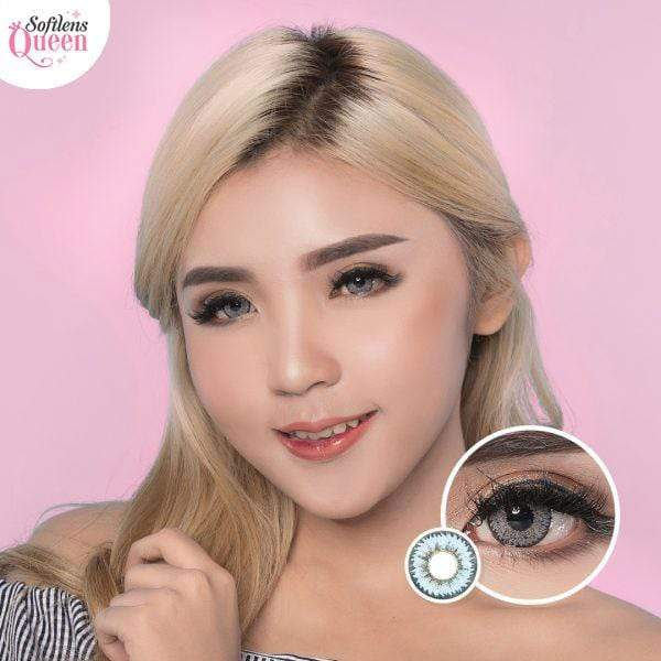 Dream Color Pear Blue - Dream Color - Softlens Queen - Natural Colored Contact Lenses