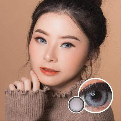 Dream Color Sahara Gray - Dream Color - Softlens Queen - Natural Colored Contact Lenses