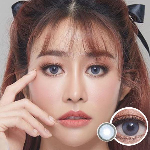 Dream Color Samui Blue - Dream Color - Softlens Queen - Natural Colored Contact Lenses