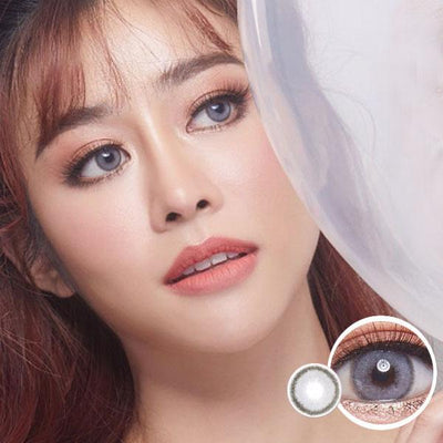 Dream Color Samui Gray - Dream Color - Softlens Queen - Natural Colored Contact Lenses