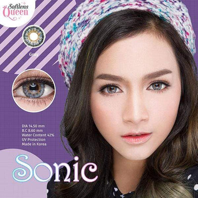 Dream Color Sonic Gray - Dream Color - Softlens Queen - Natural Colored Contact Lenses