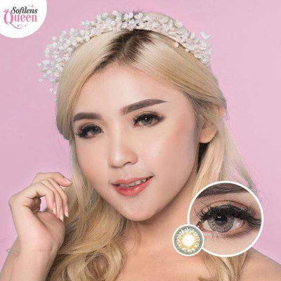 Dream Color Tokyo Gray - Dream Color - Softlens Queen - Natural Colored Contact Lenses