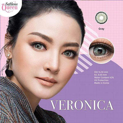 Dream Color Veronica Gray - Dream Color - Softlens Queen - Natural Colored Contact Lenses