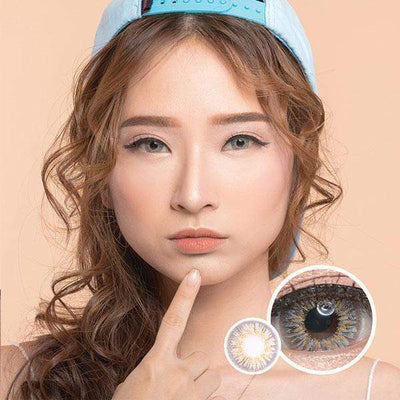 EOS Adelio Gray - EOS - Softlens Queen - Natural Colored Contact Lenses