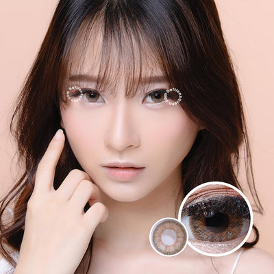 EOS Anuna Brown - EOS - Softlens Queen - Natural Colored Contact Lenses