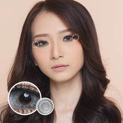 EOS Anuna Gray-Green - EOS - Softlens Queen - Natural Colored Contact Lenses